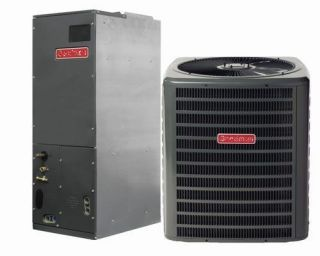 Ton Goodman 13 SEER R 410A Air Conditioner System
