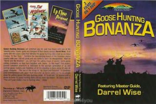 GOOSE Hunting Bonanza Master Guide Darrel Wise 3 Films on 1 DVD New