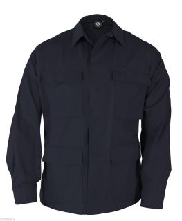 BDU Coat Shirt LAPD Navy Propper Genuine Gear F5450 Cotton Poly Rip