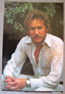 Vintage 1970s Gordon Lightfoot Poster Original