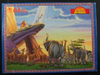 Walt Disney's The Lion King Jigsaw Puzzle SEALED