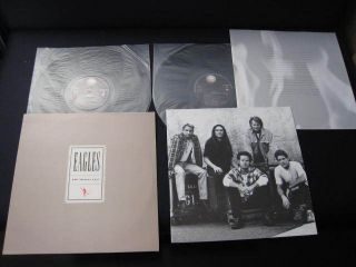 Freezes Over EU Holland Press Double Vinyl LP Don Henley Glenn Frey