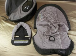 Graco SnugRide Carseat Car Seat Cover Graco Pedic Luxury Foam 3 Pieces