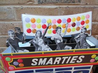 Rowntrees Chocolate Figural Shop Display Omnibus Smarties Advertising