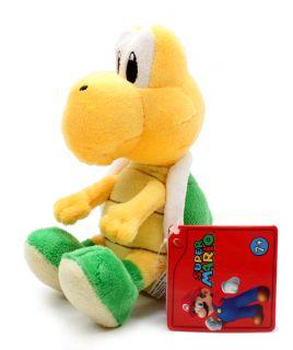 Authentic New Global Holdings Super Mario Plush 5 Koopa Troopa Noko