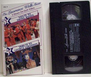 Show Vol 9 VHS Salute to Swing Bands Tribute George Gershwin