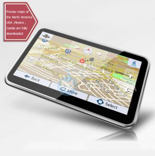 GPS Navigation Navigator with United States Canada Mexico Maps