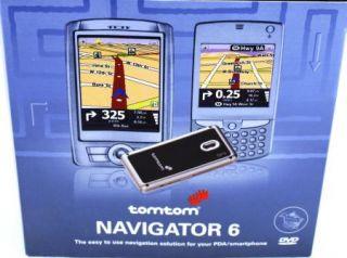 Box TomTom Navigator 6 GPS Kit Software Maps GPS Receiver 4328