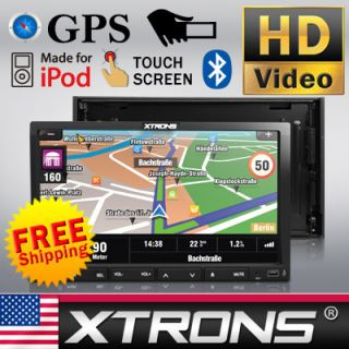 2012 New Model 7 Double DIN HD Digital Screen Car Stereo GPS DVD