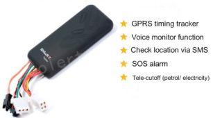 Realtime GPRS GPS GSM Vehicle Car Tracker Locator SOS Alarm