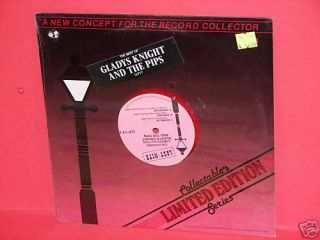 Gladys Knight and The Pips 10 Red Vinyl SEALED