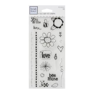 Fiskars Heidi Grace Designs Assorted Craft Clear Stamps