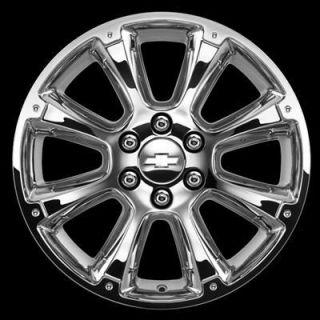 22 Chrome Wheel & Tire Package 2007 2013 GM Truck SUV GENUINE OEM GM