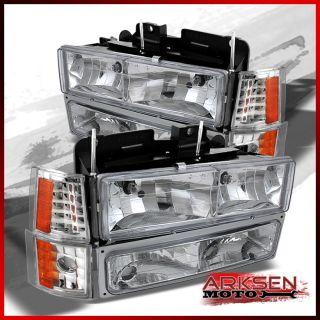 GMC CK Pickup Yukon Suburban Sierra Headlights Corner Lamp Bumper