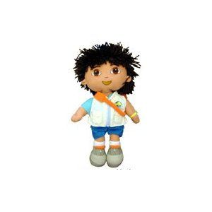 Plush Backpack Go Diego Go New Stuffed 13 Soft Doll Toy Back Bag