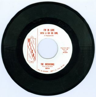 The Intentions I'M in Love with A Go Go Girl RARE Philly Doo Wop 45