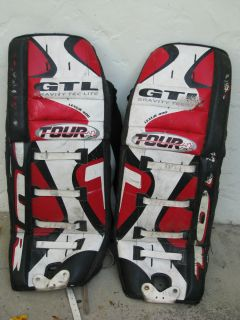 Youth Ice Hockey Goalie Pads Good Condition