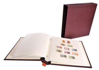 Frank Godden Warwick Stamp Album Slipcase Maroon