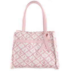 Horizon of Hope Handbag Purse Tote Pink Ribbon Bow Breast Cancer