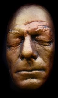Glenn Strange Life Mask Face of Universal Frankenstein in Light Weight