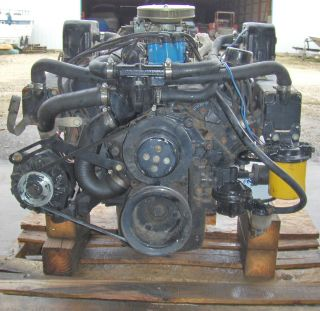 MERC 188hp V 8 302 cu in FORD 5 0 L SERIAL 4168215 GOOD COMPRESS READY