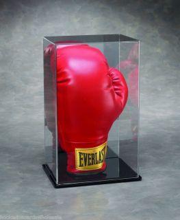 Single Boxing Glove Vertical Display Case Holder
