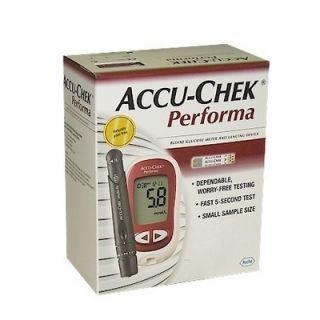 NEW ACCU CHEK PERFORMA BLOOD GLUCOSE MONITOR DIABETES GLUCOMETER