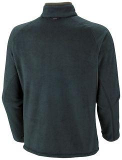 Peak Fleece Jacket Interchange 2XL XXL Green New Mens 2012 13