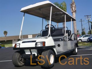 Gas 6 Passenger Golf Cart 11HP 350cc Engine DS Runs Great Limo