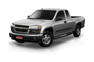 GMC Canyon Extended Cab 10021119 Romik Max Bars Side Steps Trim Black