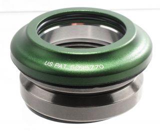 Drop In Integrated Threadless Headset 1 1 8 41mm Green Road Bike New