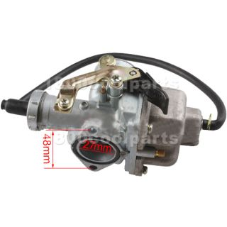 27mm Carburetor ATV Dirt Bike 200cc Go Kart Carb Carb Sunl taotao