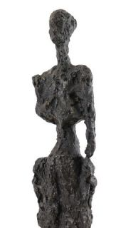 Modern Art Bronze Sculpture La Femme A Tribute to Giacometti