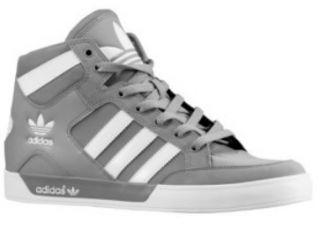 new Adidas Originals Mens Hard Court High Gray Shoes Trainers Hi