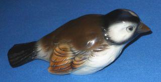 Vintage Goebel West Germany Bird Sparrow Porcelain Figurine CV75