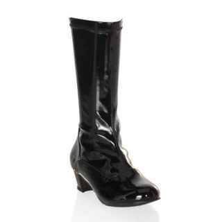 Children Girls ChaCha 180 Black Halloween GoGo Boots