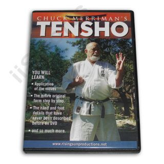 Tensho & Sanchin kata DVD Miyagi Chojun Goju Ryu form RS255 karate FS