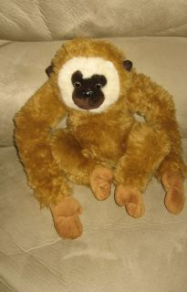 12 Cute Gibbon Monkey Plush Stuffed Animal Toy Doll