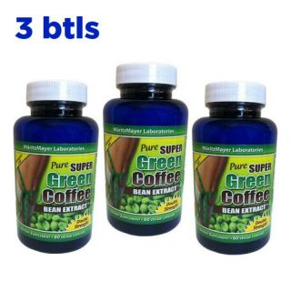 btl Pure Super Green Coffee Bean Extract 800mg 60 capsule