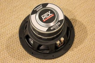 MTX Audio 8 Thunder 5500 Subwoofer T5508 04 200 Watt RMS Single 4 Ohm