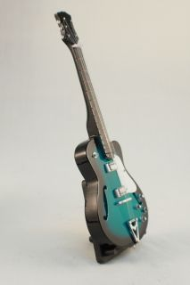 Mini Guitar Epiphone Gibson Archtop Turquoise
