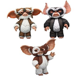 Gremlins 7 Series 1 3 Action Figure Toys Set NECA Lenny George Gizmo