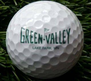 Green Valley Lake Park MN Logo Golf Ball