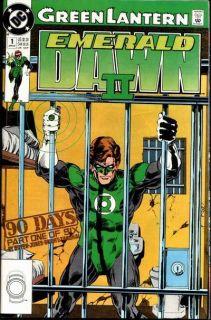 Green Lantern Emerald Dawn II #1   Comic Book Cover