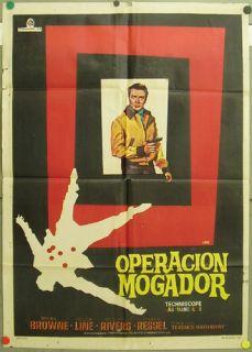 DU67 Password Kill Agent Gordon Roger Browne 1sh Spain
