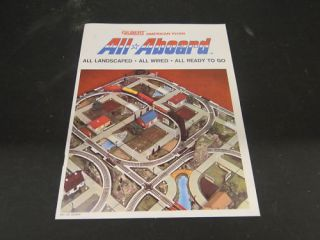 Original Gilbert #M6788 American Flyer All Aboard Brochure printed in