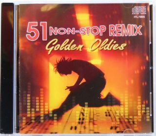 51 Non Stop Remix Dance Golden oldies Original Artist