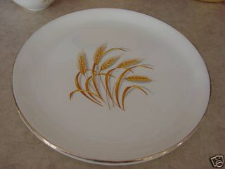 Homer Laughlin China Dinnerware Golden Wheat set 2 22k Gold Dinner