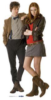 Matt Smith Amy Pond Karen Gillan Cutout Standee Standup Prop