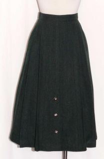 GOSSL ~ GREEN WOOL German Gorsuch WINTER PLEATED Hunting Dress Suit